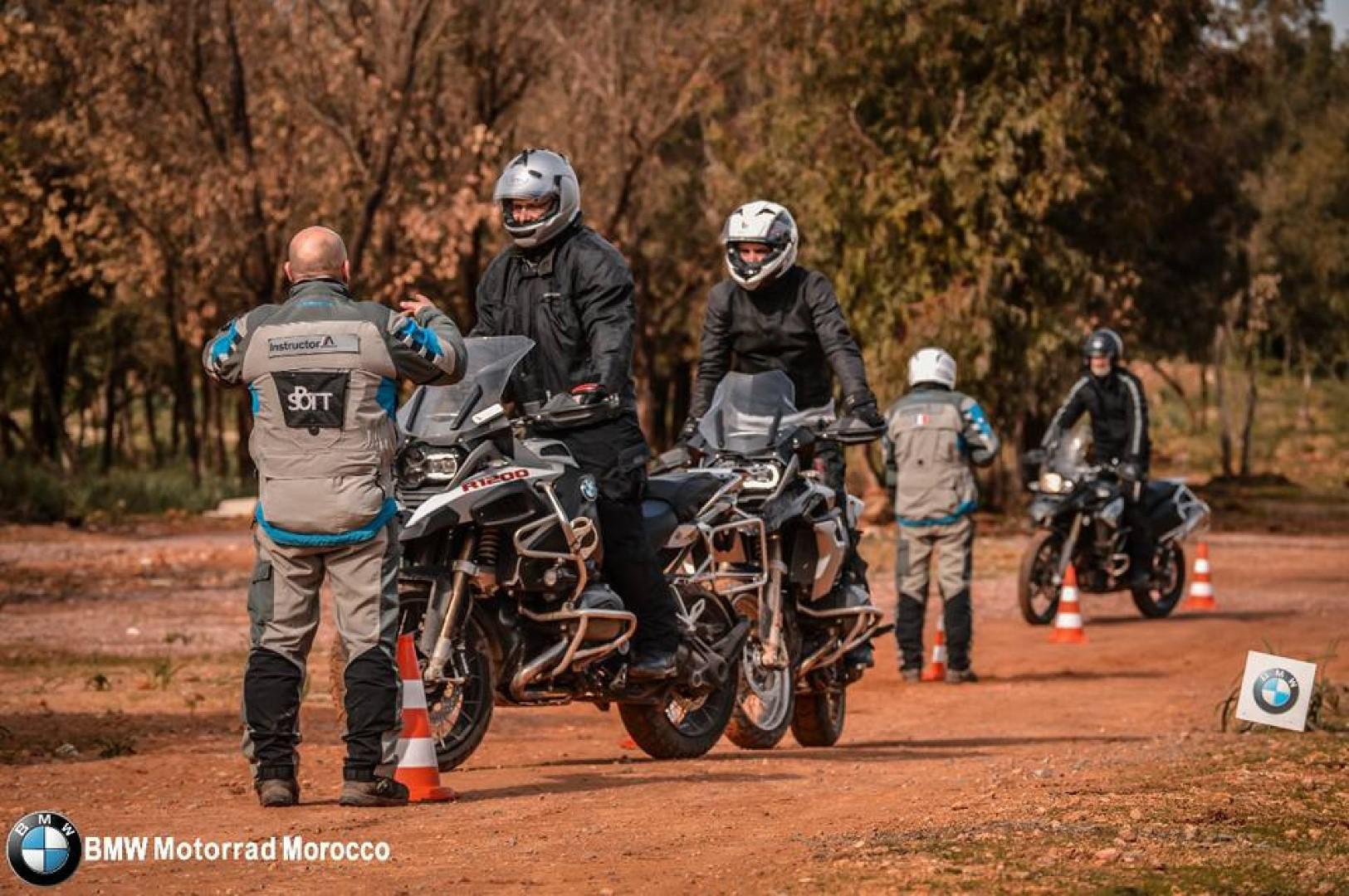 Stage Off-road by BMW Motorrad Maroc