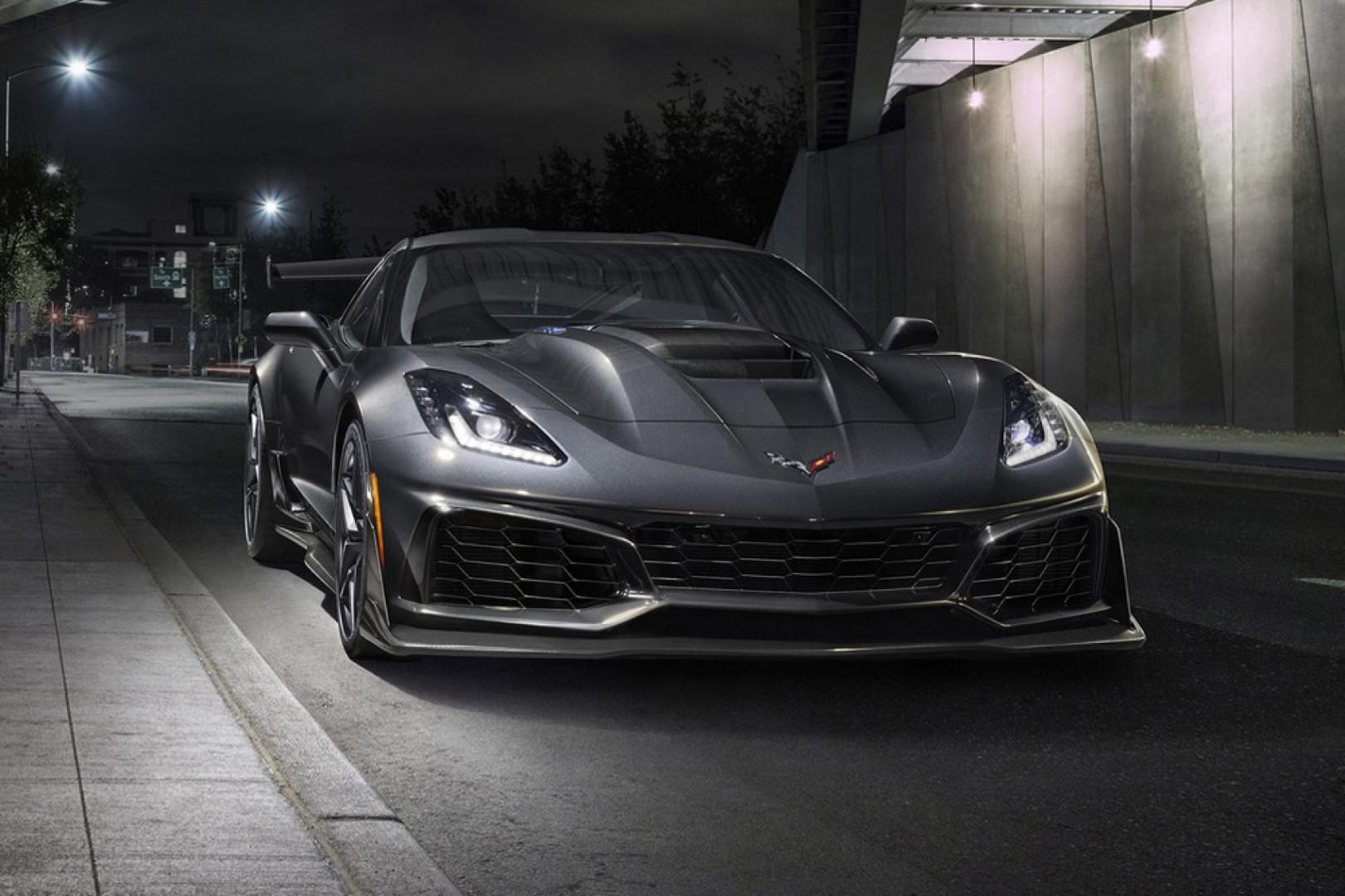 Les performances de la Chevrolet Corvette ZR1 ?