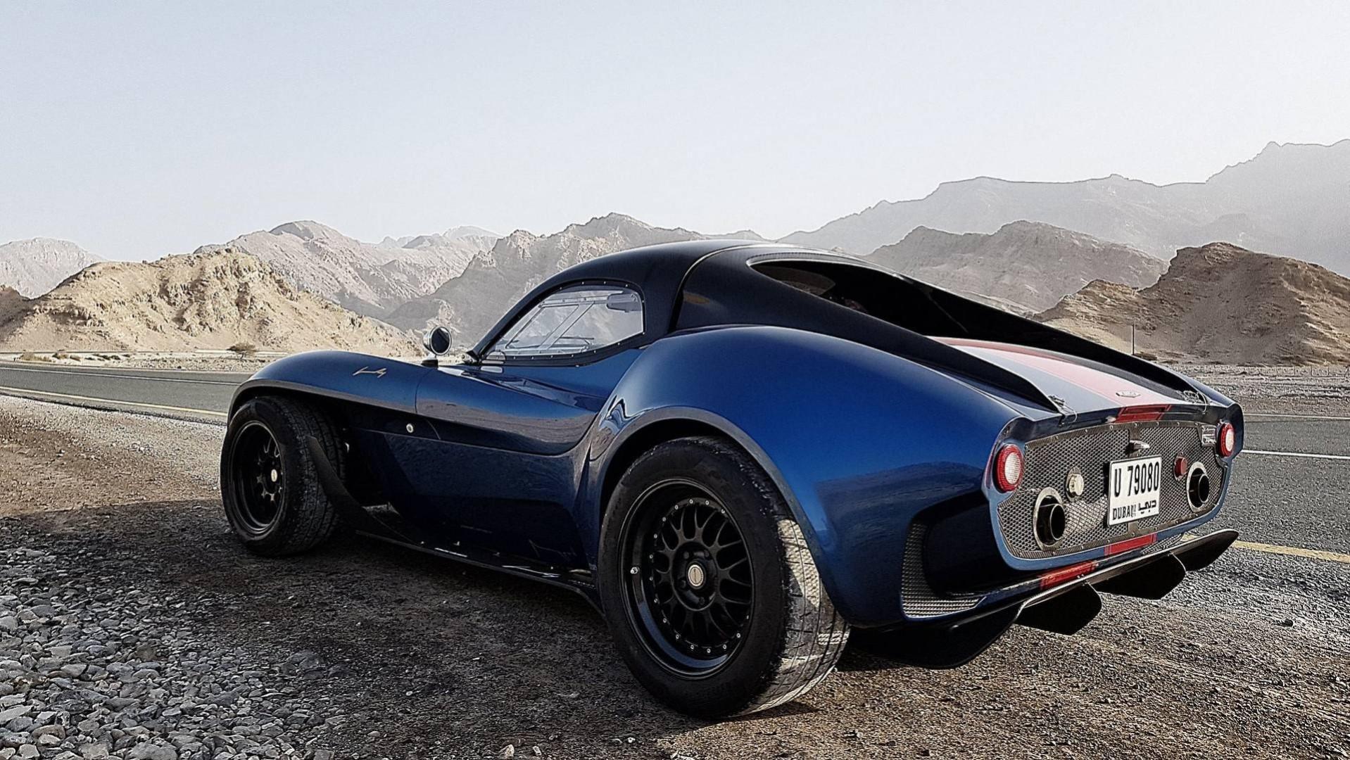 Jannarelly Design-1 limitée à 499 exemplaires prend l'air dans les montagnes de Dubaï !