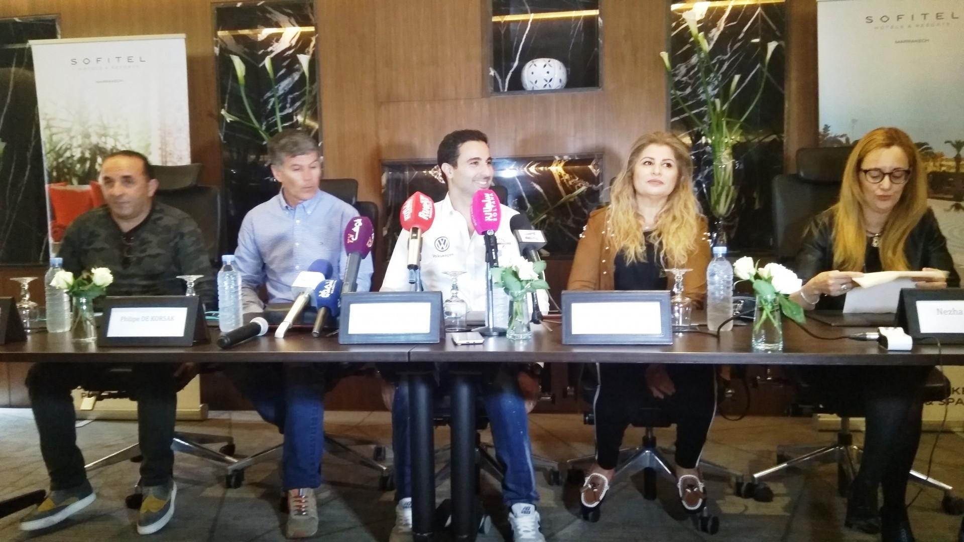 En vidéo : conférence de presse de BENNANI et le WTCR Marrakech