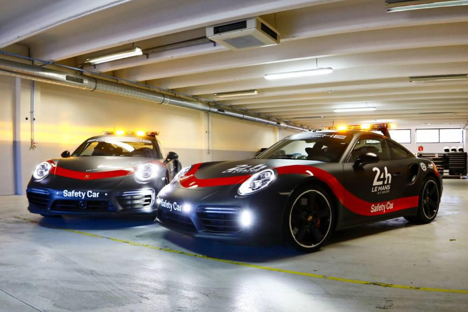 Porsche 911 Turbo : Safety Car du FIA WEC et des 24 heures du Mans jusqu'en 2020