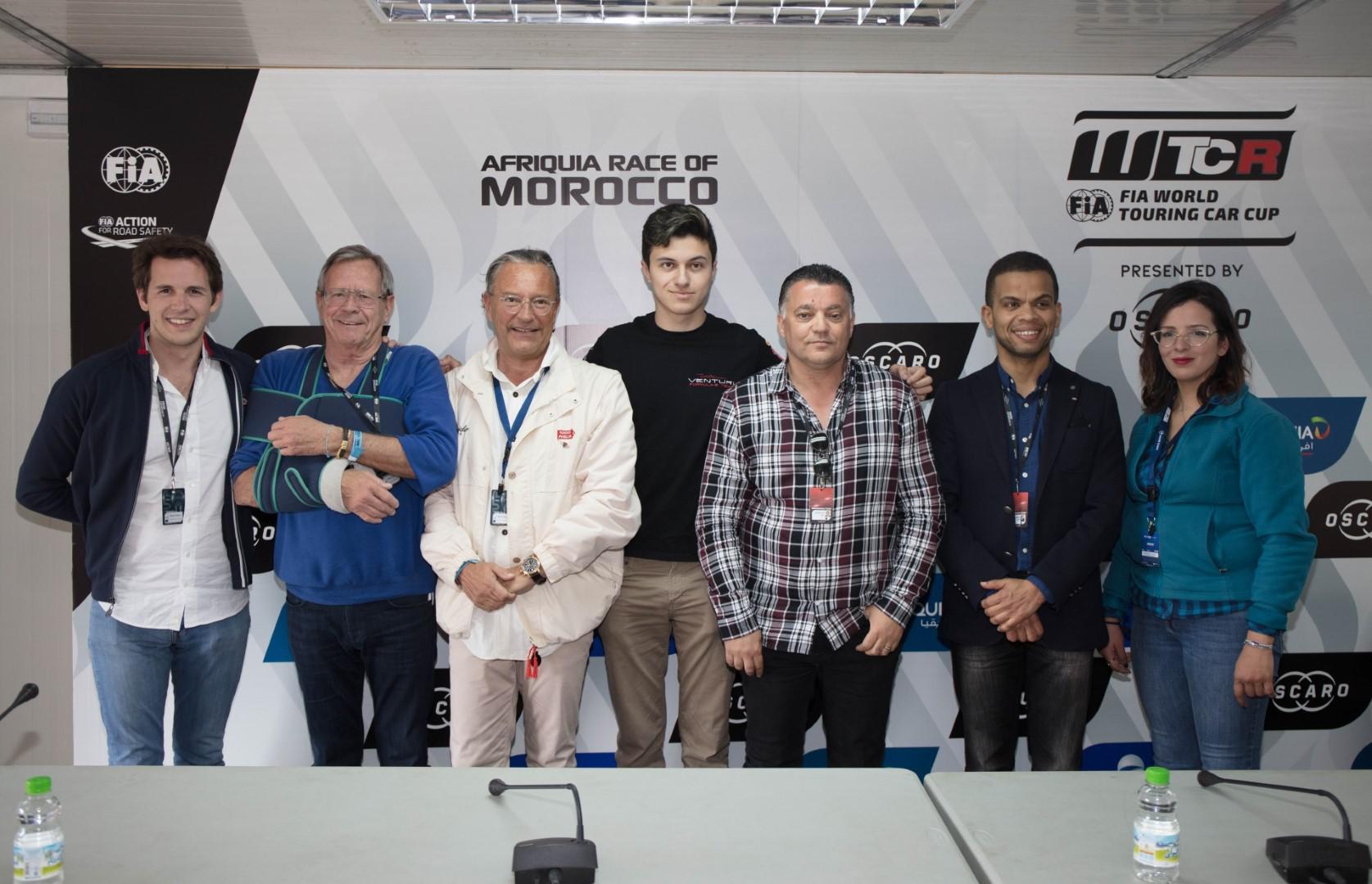 En vidéo : conférence de presse partenariat Mobilité Club Maroc et Michael Benyahia