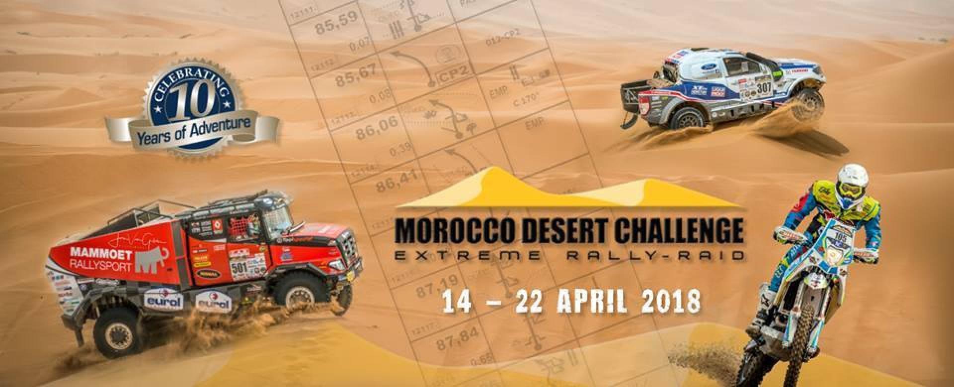 Agadir accueille le départ du MDC 2018, le 2ème plus grand rallye tout terrain au monde !
