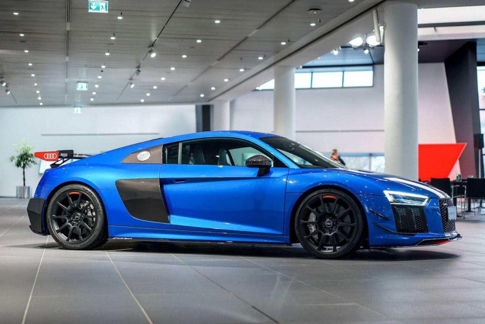 Audi R8 V10 Plus et le kit Performance d'Audi Sport