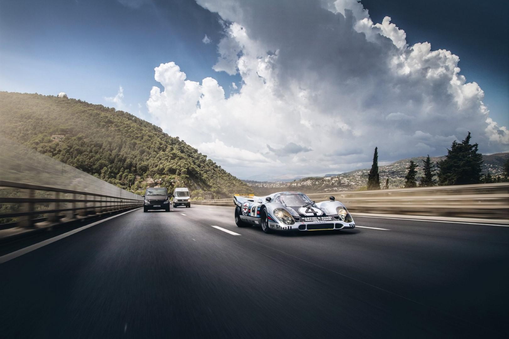 Un collectionneur fait homologuer une Porsche 917K châssis 917-037 pour la route !