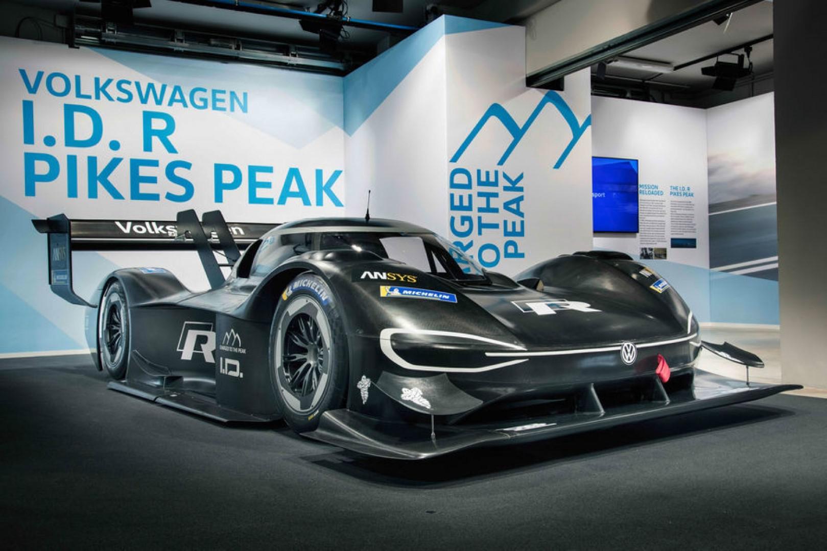 Volkswagen a dévoilé son véhicule de course électrique: I.D R Pikes Peak de 680 ch