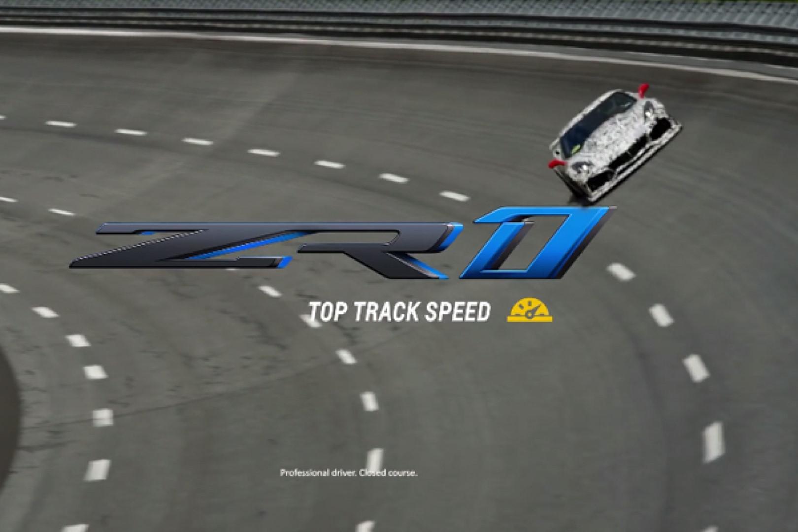Vidéo: Plus de 340 km/h en pointe pour la Chevrolet Corvette ZR1 !