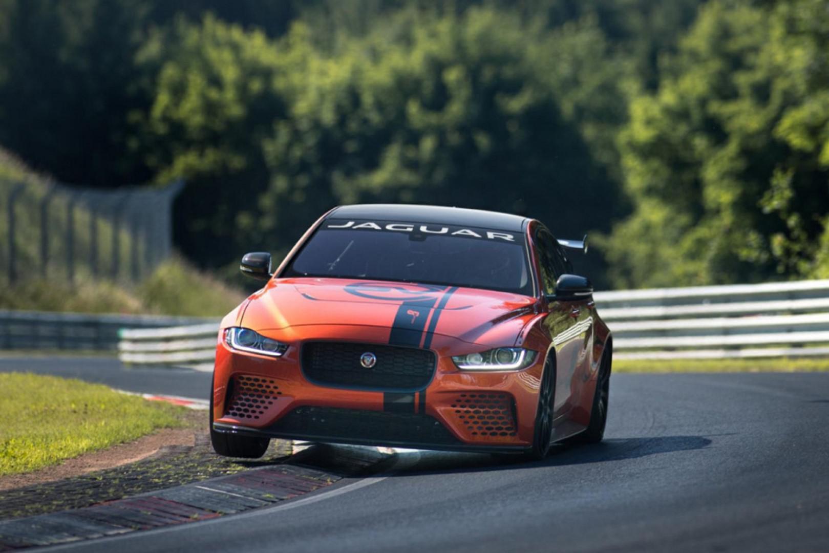 Jaguar XE SV Project 8 : 300 exemplaires de la berline la plus rapide jamais réalisée par Jaguar verront le jour.
