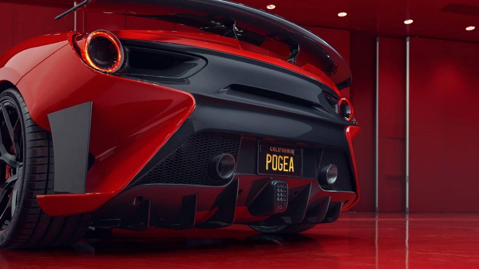 Ferrari 488 GTB FPlus Corsa par Pogea Racing : Plus puissante que la Pista !