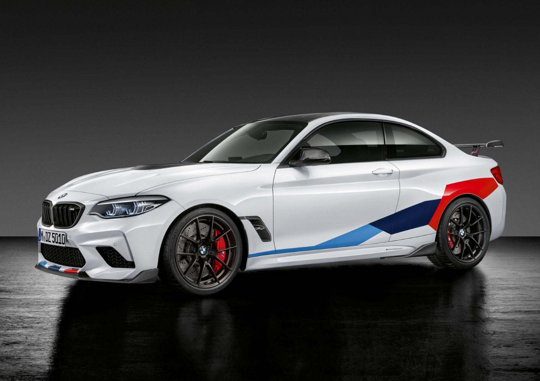 BMW M2 Competition reçoit maintenant son catalogue d'accessoires M Performance.