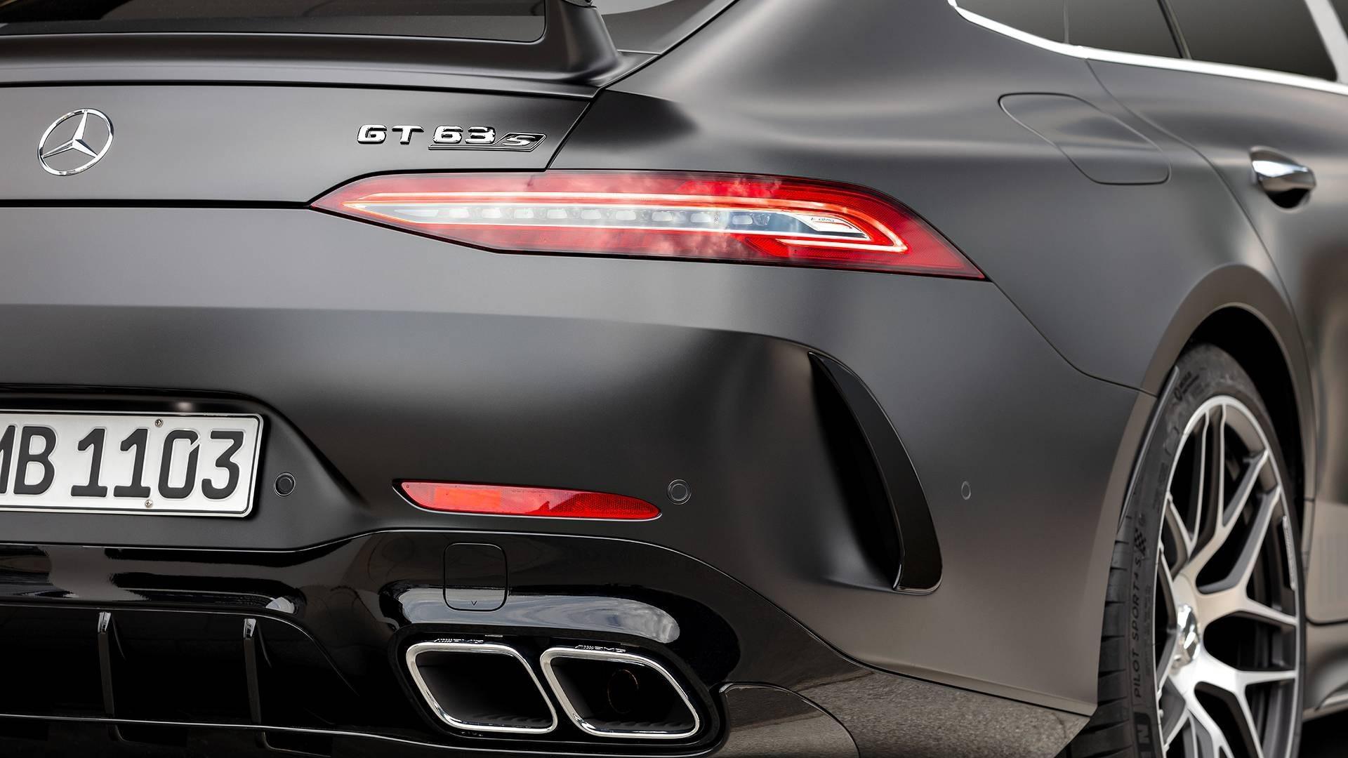 Une version très exclusive: Mercedes-AMG GT 63 S Coupé Edition 1