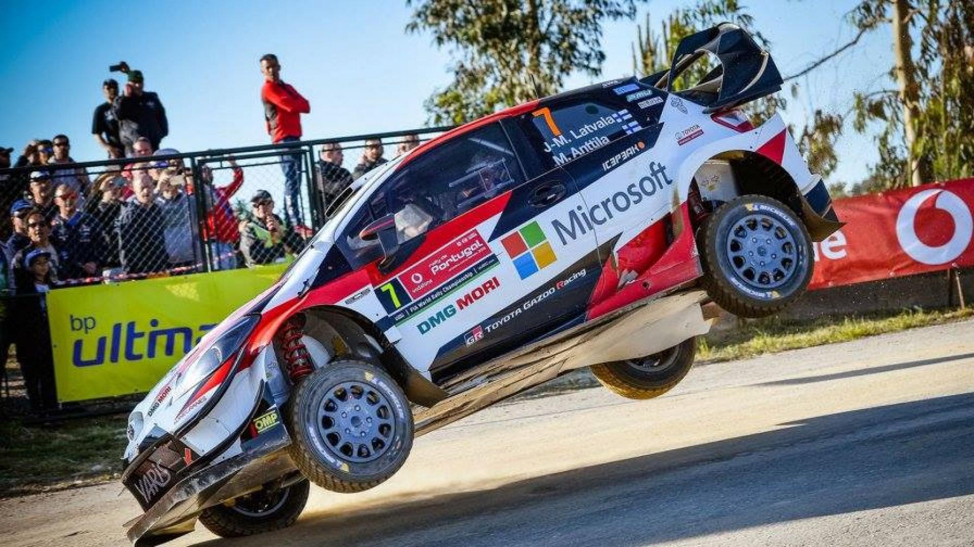 Rallye du Portugale 2018 : Ott Tanak leader en ce début du rallye.