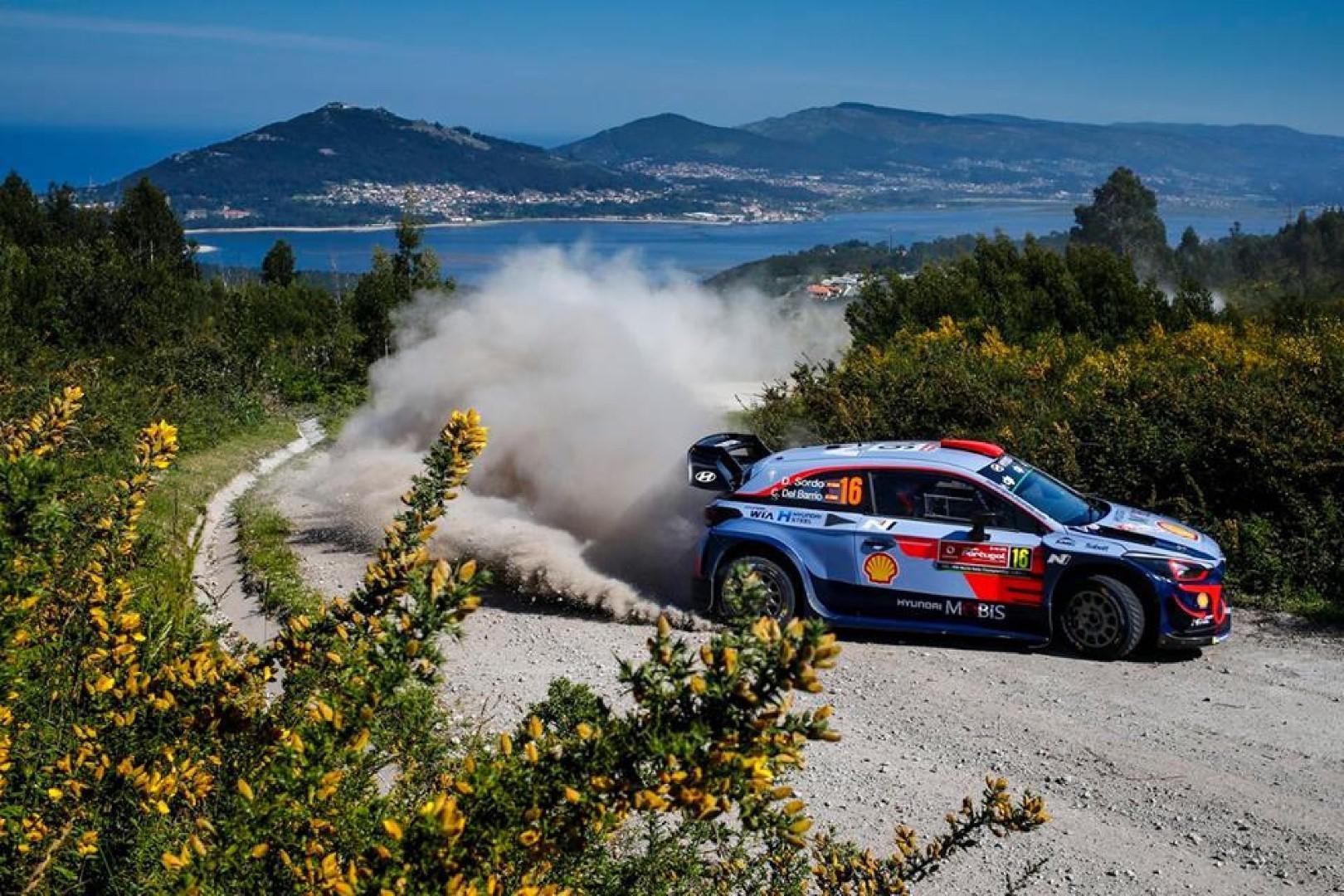 Rallye du Portugal 2018 : Thierry Neuville en tête  du classement.