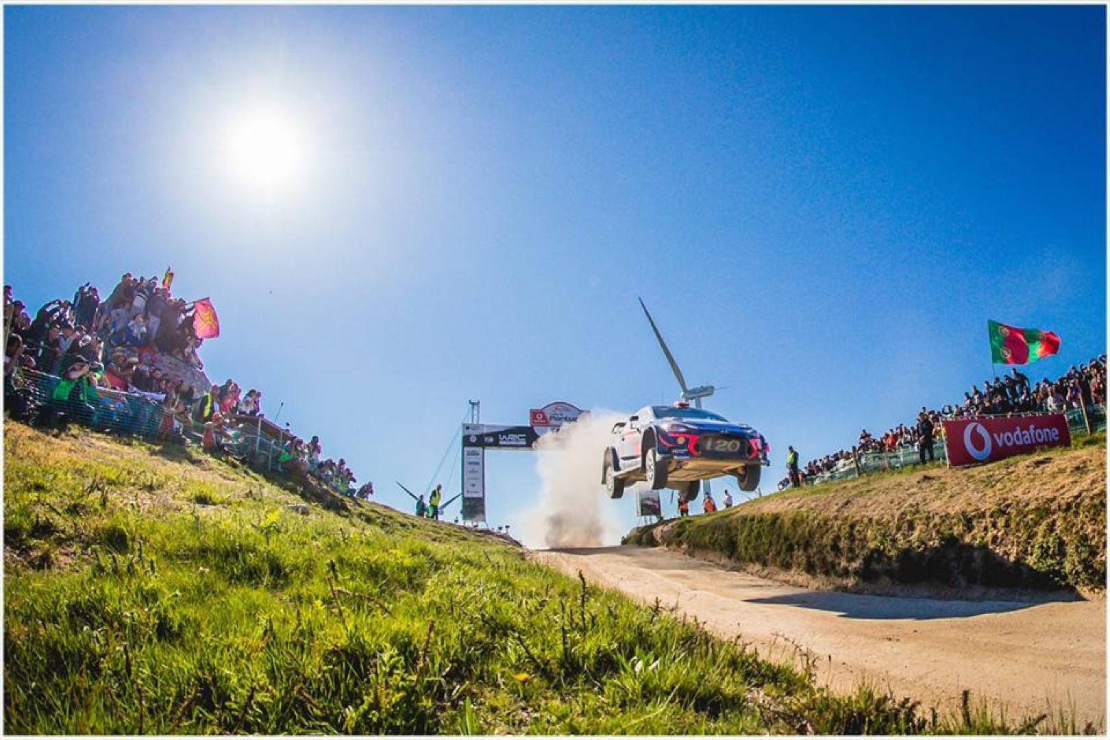 Rallye du Portugal 2018 : Neuville remporte l'épreuve.
