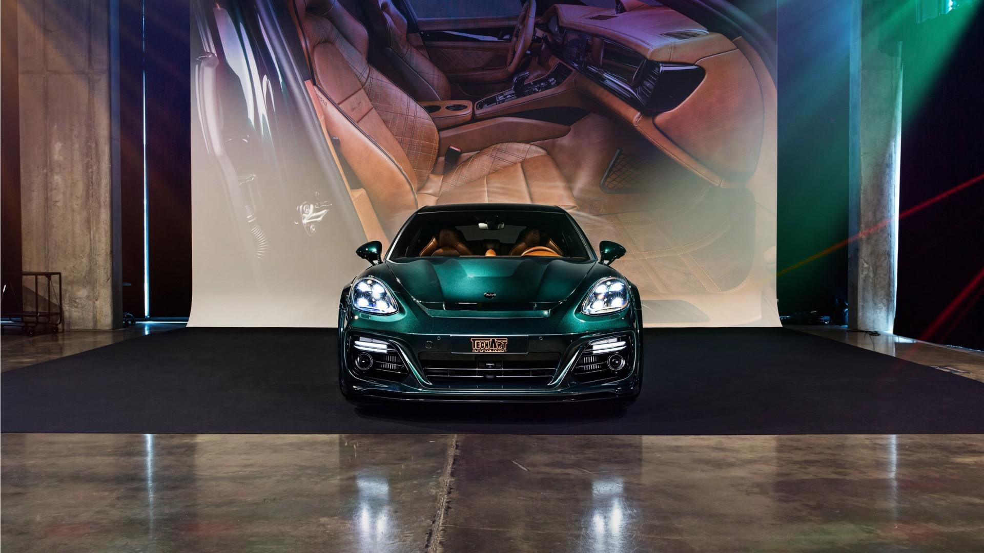 Entre la voiture de luxe et la voiture de sport :Porsche Panamera Sport TurismobyTechArt