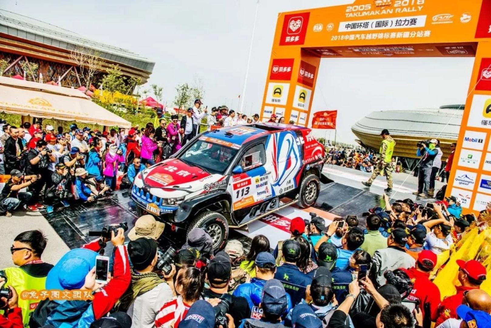 Taklimakan Rally 2018: Christian Lavieille remporte le prologue !