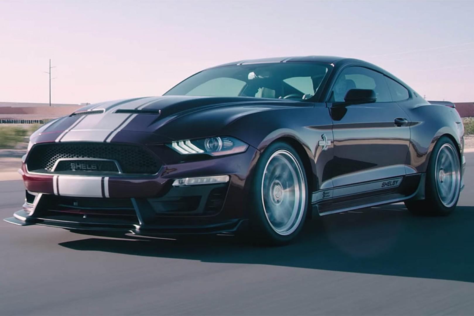 Ford Mustang Shelby Super Snake 2018: Plus de 800 ch sous le capot !