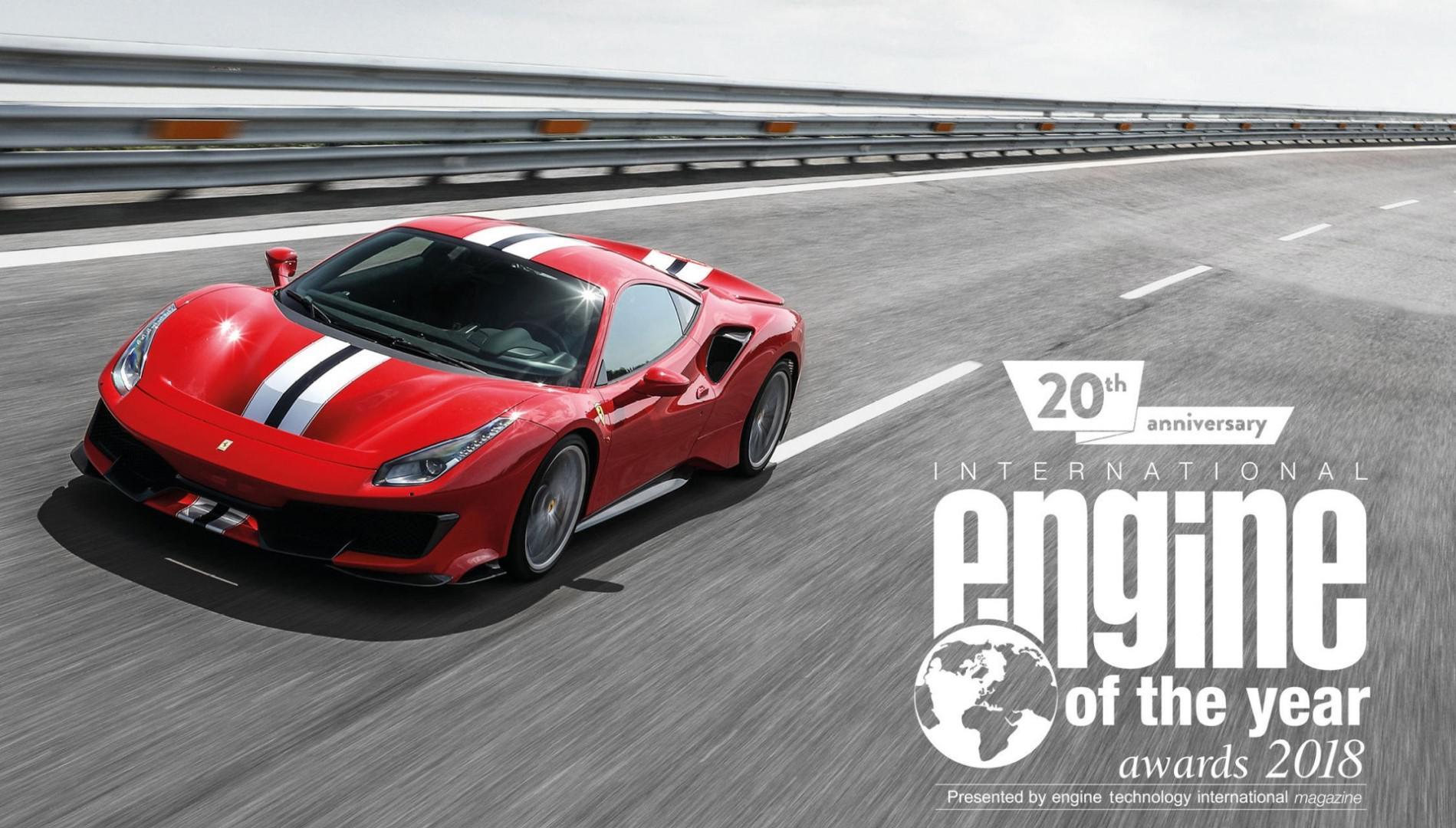 Le bloc V8 Ferrari de nouveau élu moteur de l'année !