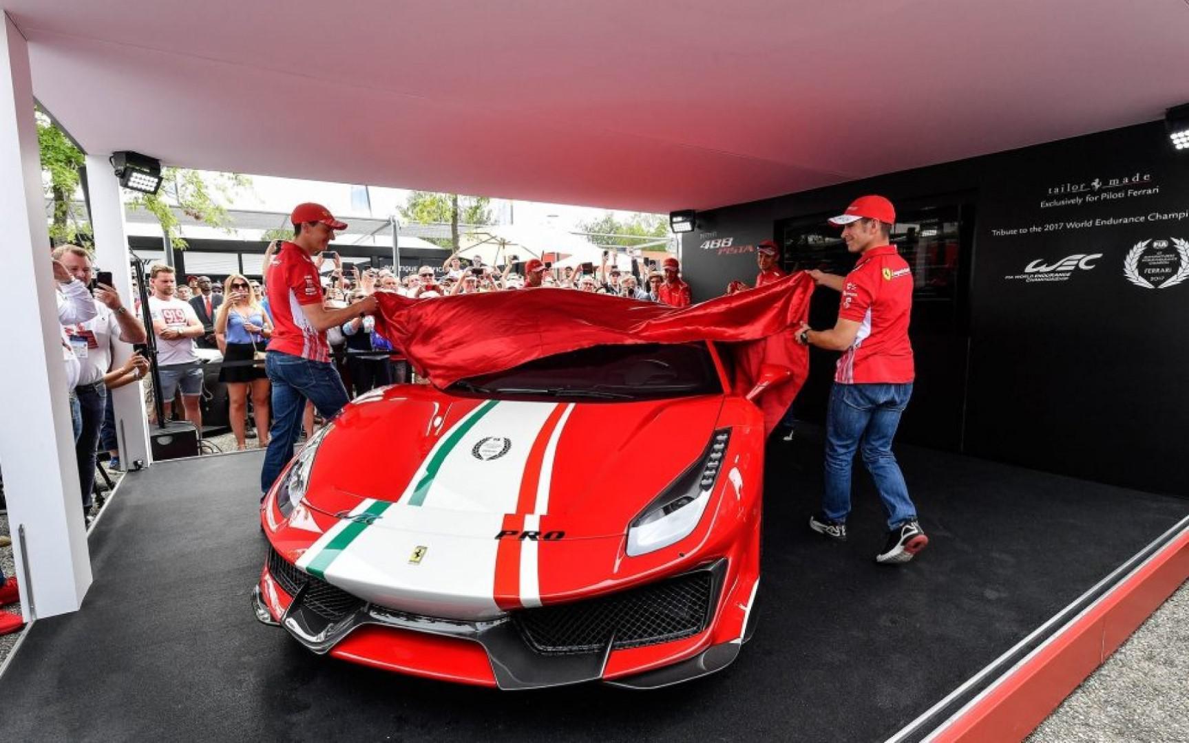 Ferrari 488 Pista 'Piloti Ferrari': Un modèle uniquement proposé aux clients baptisé