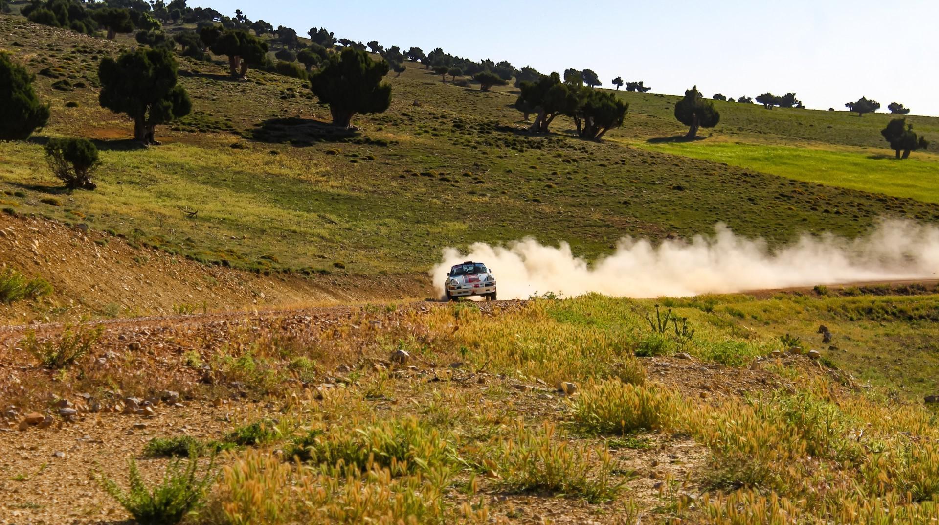 Maroc Historic Rally (MHR) 2018 : DEVEZA remonte sur OREILLE
