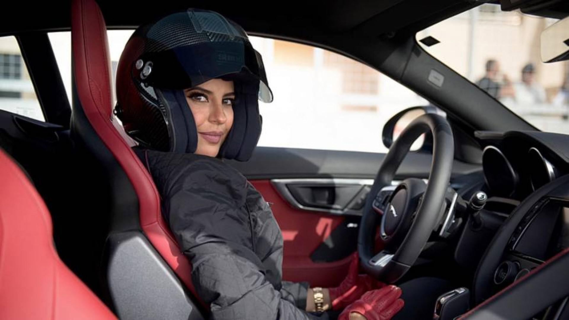 Aseel Al Hamad: Pilote Saoudienne au volantd'une F-Type