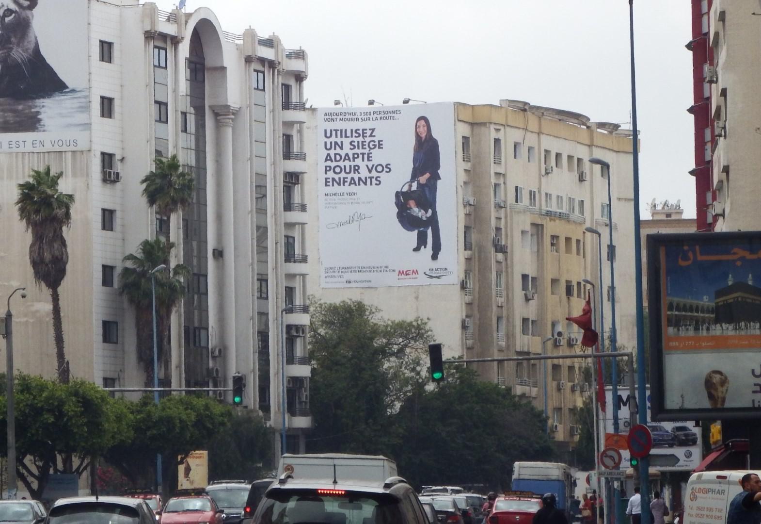 Mobilité Club Maroc déploie la campagne mondiale 3500Lives à Casablanca