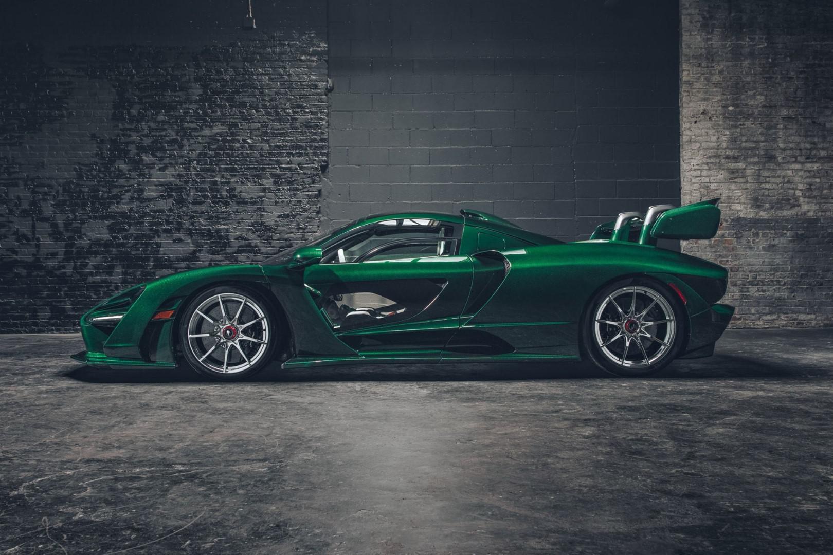 McLaren Senna Fux Green par MSO : Le vert lui va si bien ?