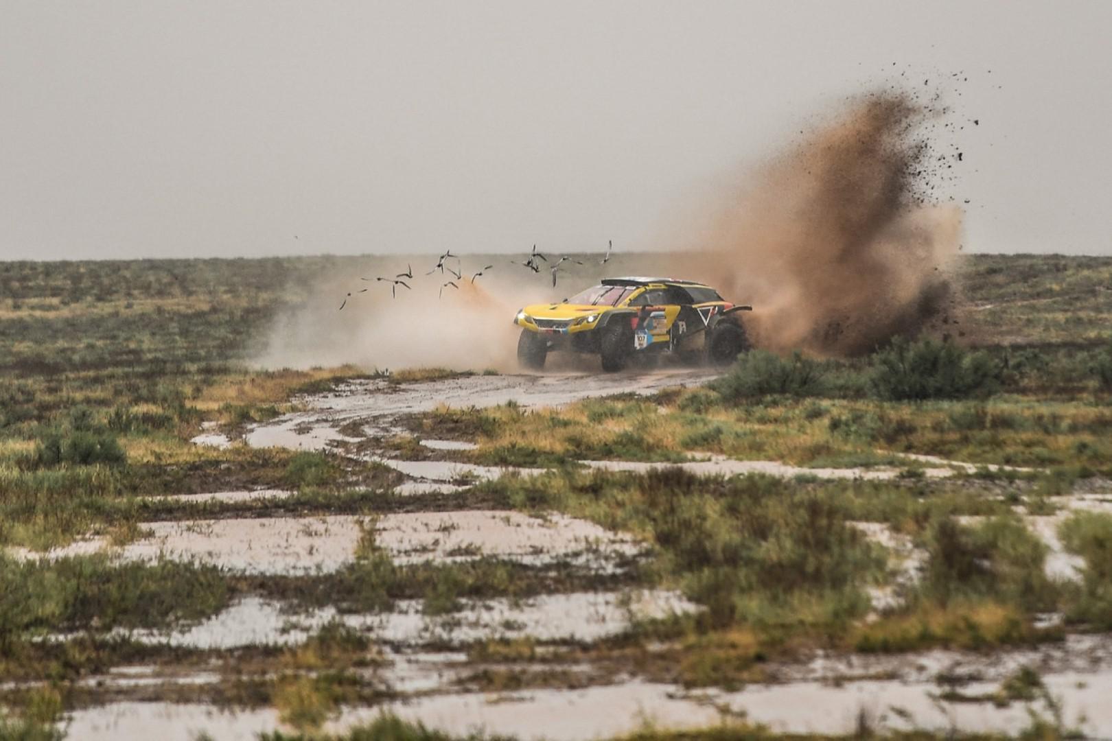 Silkway 2018 : Hunt et Sotnikov vainqueurs du jour en conditions extrêmes