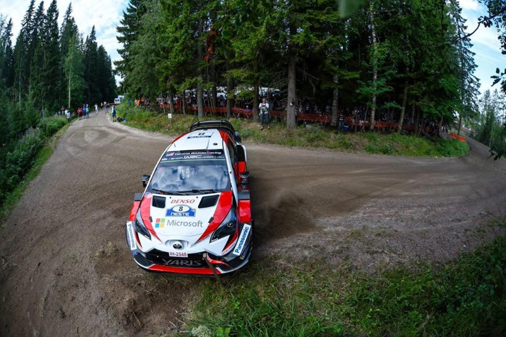 Rallye de Finlande 2018 : Ott Tanak leader