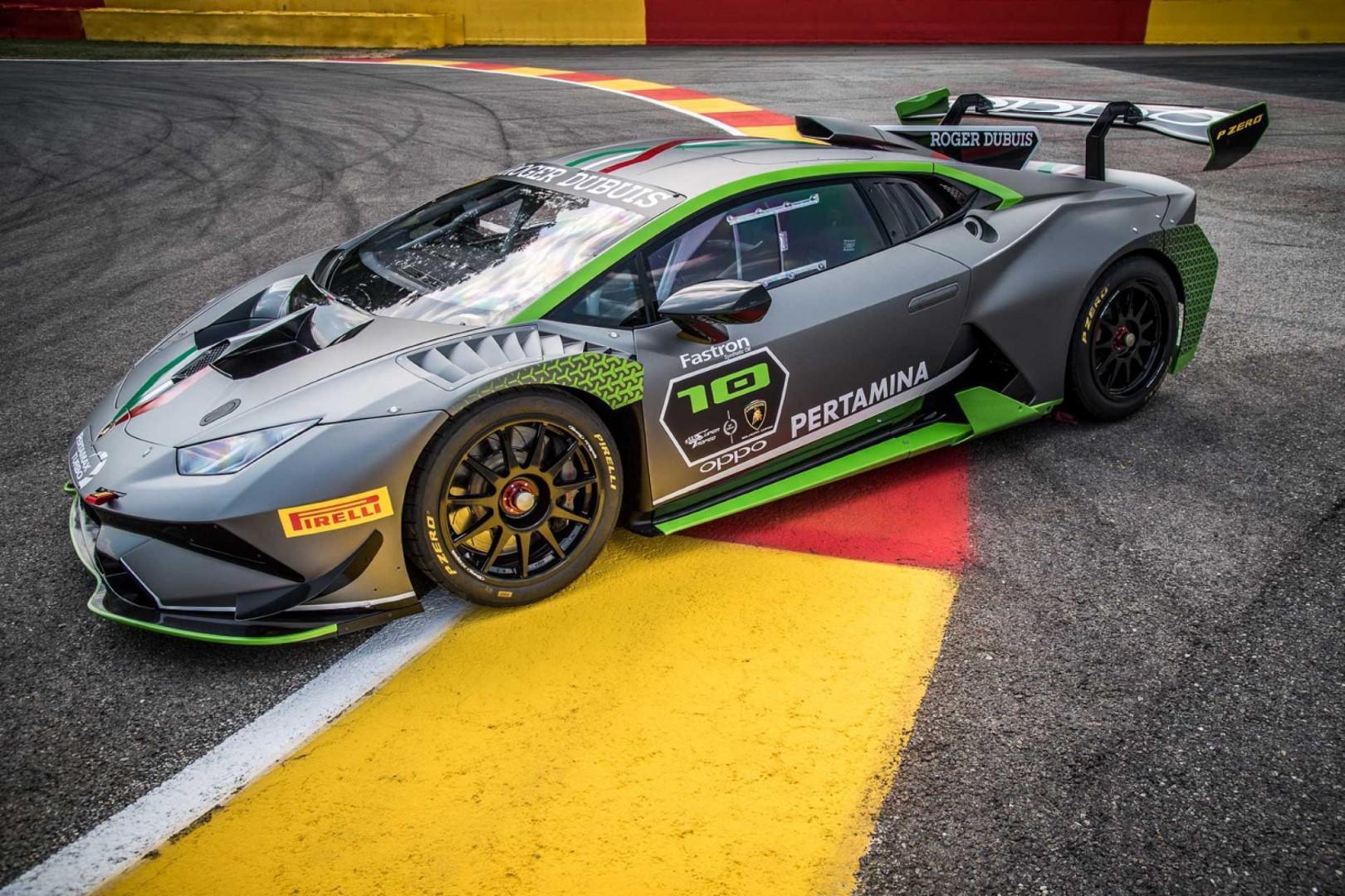 Lamborghini Huracan Super Trofeo 10ème édition !
