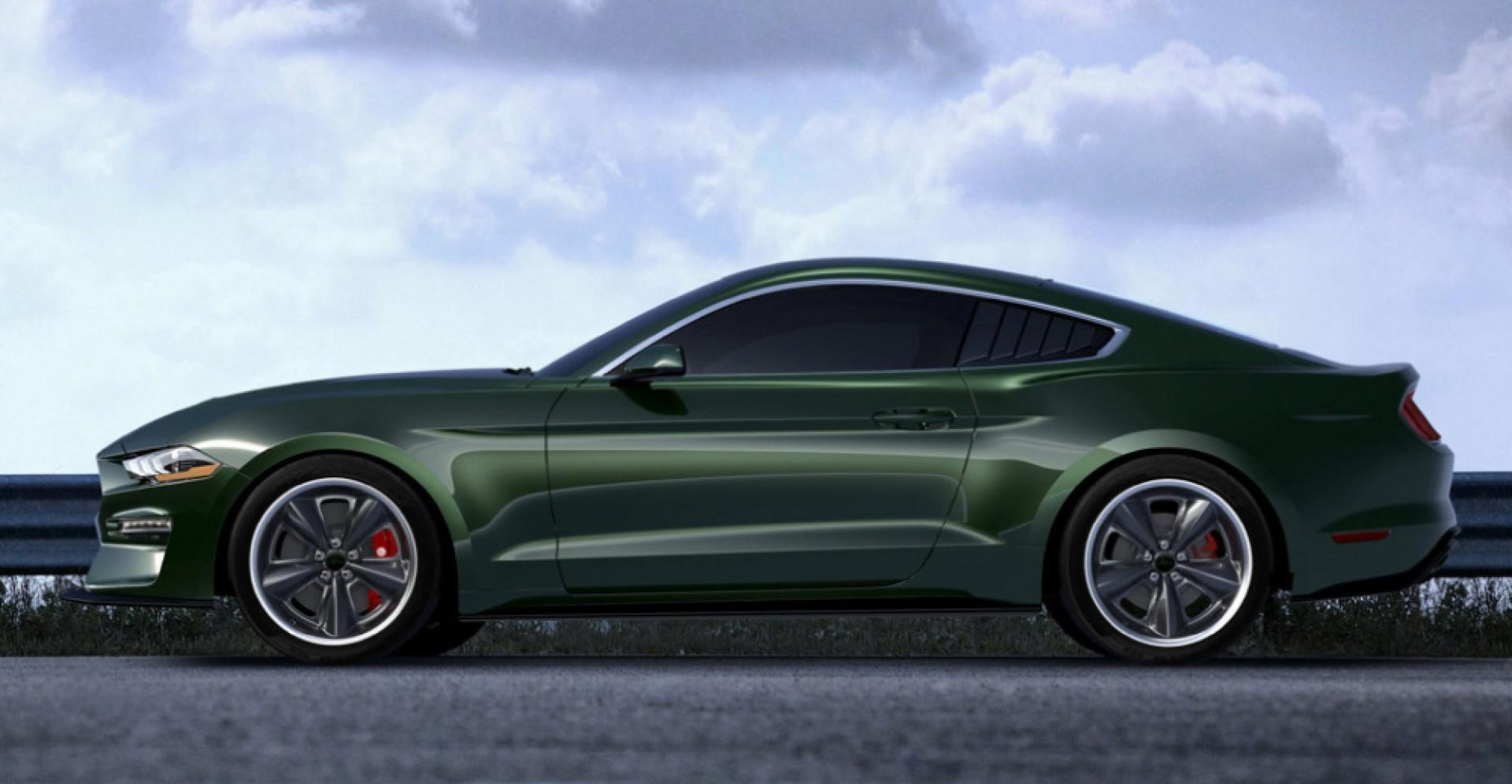 Une version spéciale:Steve McQueen Edition Ford Mustang Bullitt