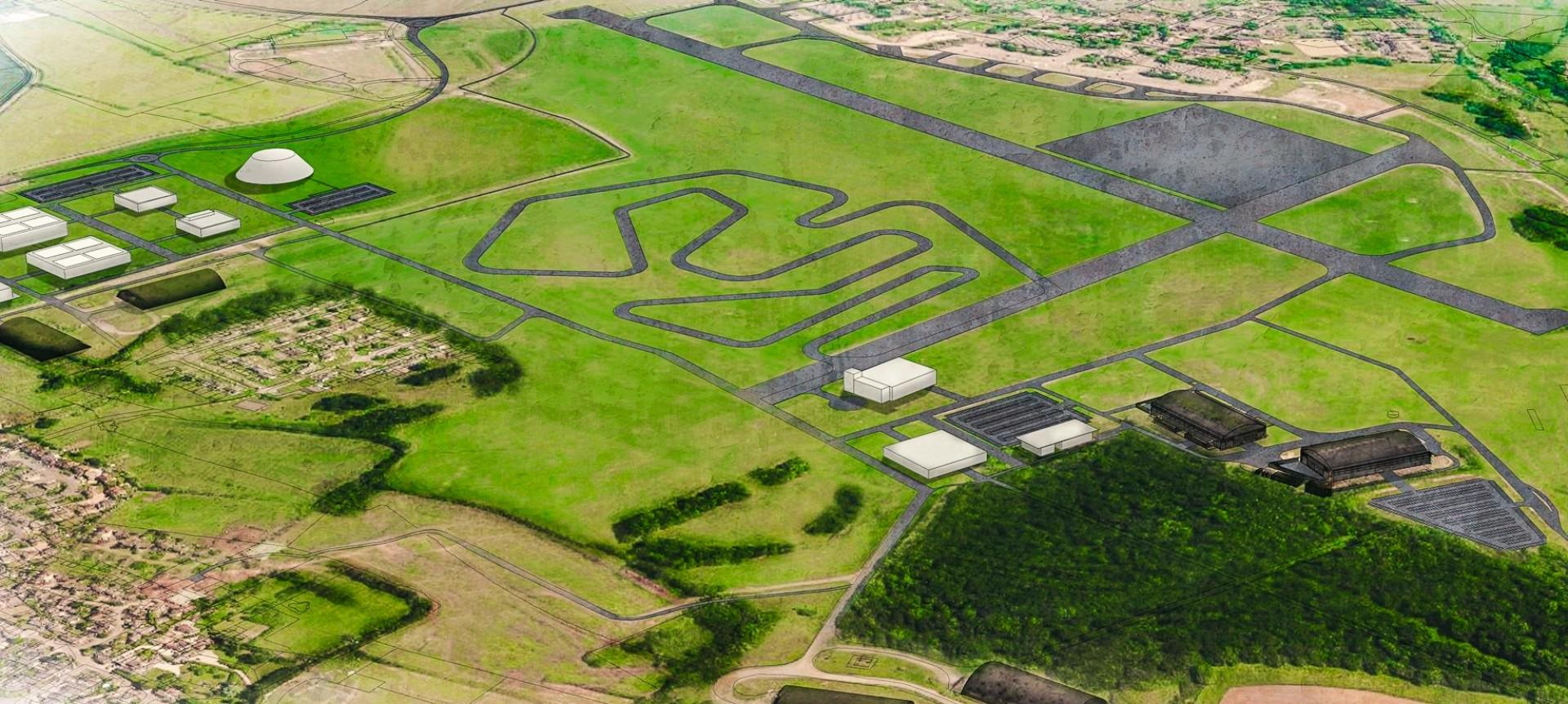 Dyson dévoile ses plans pour une piste d'essais de voitures électriques