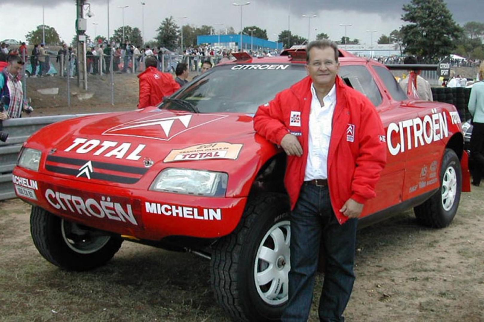 Pierre Lartigue au rallye Hearts of Morocco 2018