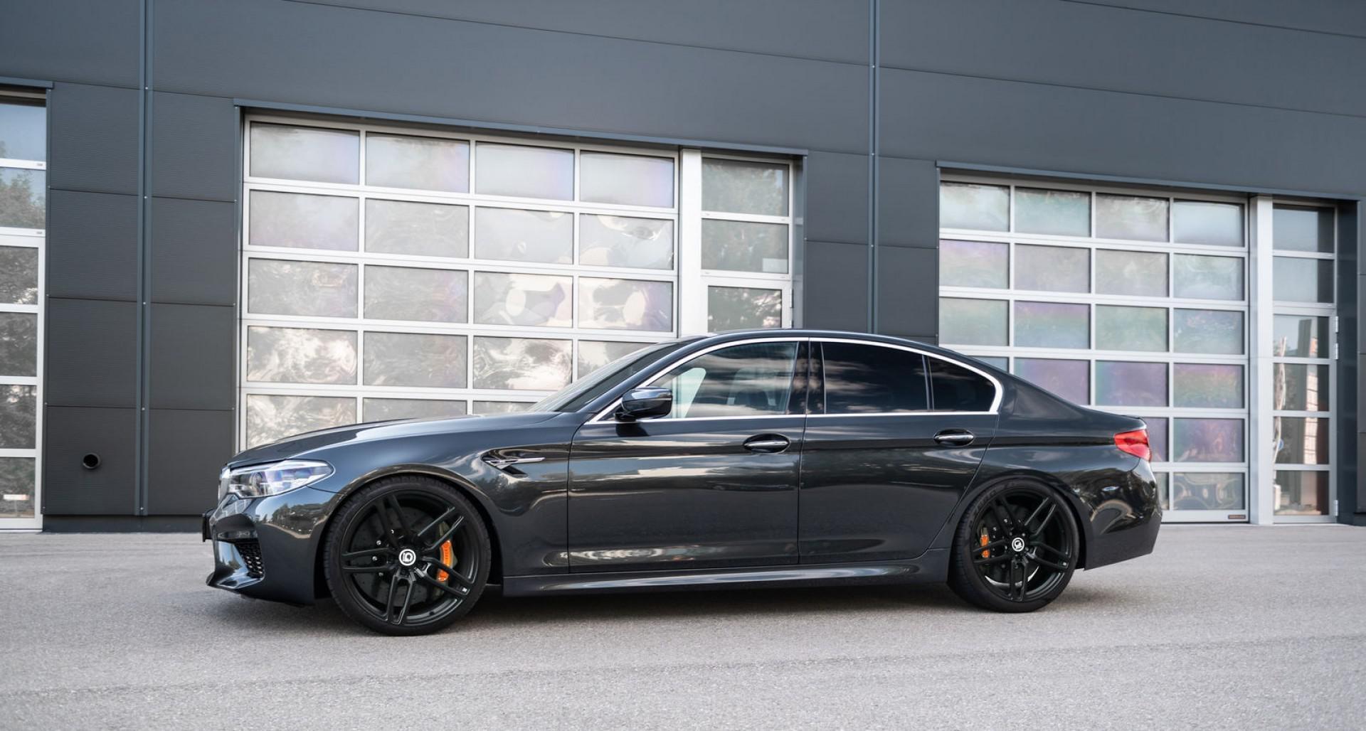 BMW M5 F90 G-POWER :  Berline de puissance avec les performances d'une super voiture de sport!