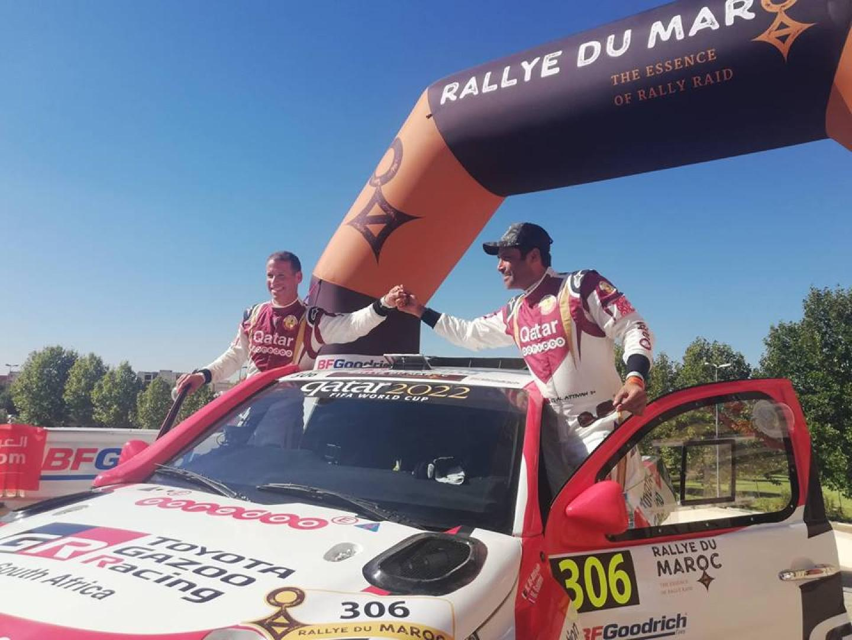 Rallye du Maroc 2018 : Al Attiya et Price remportent le prologue.