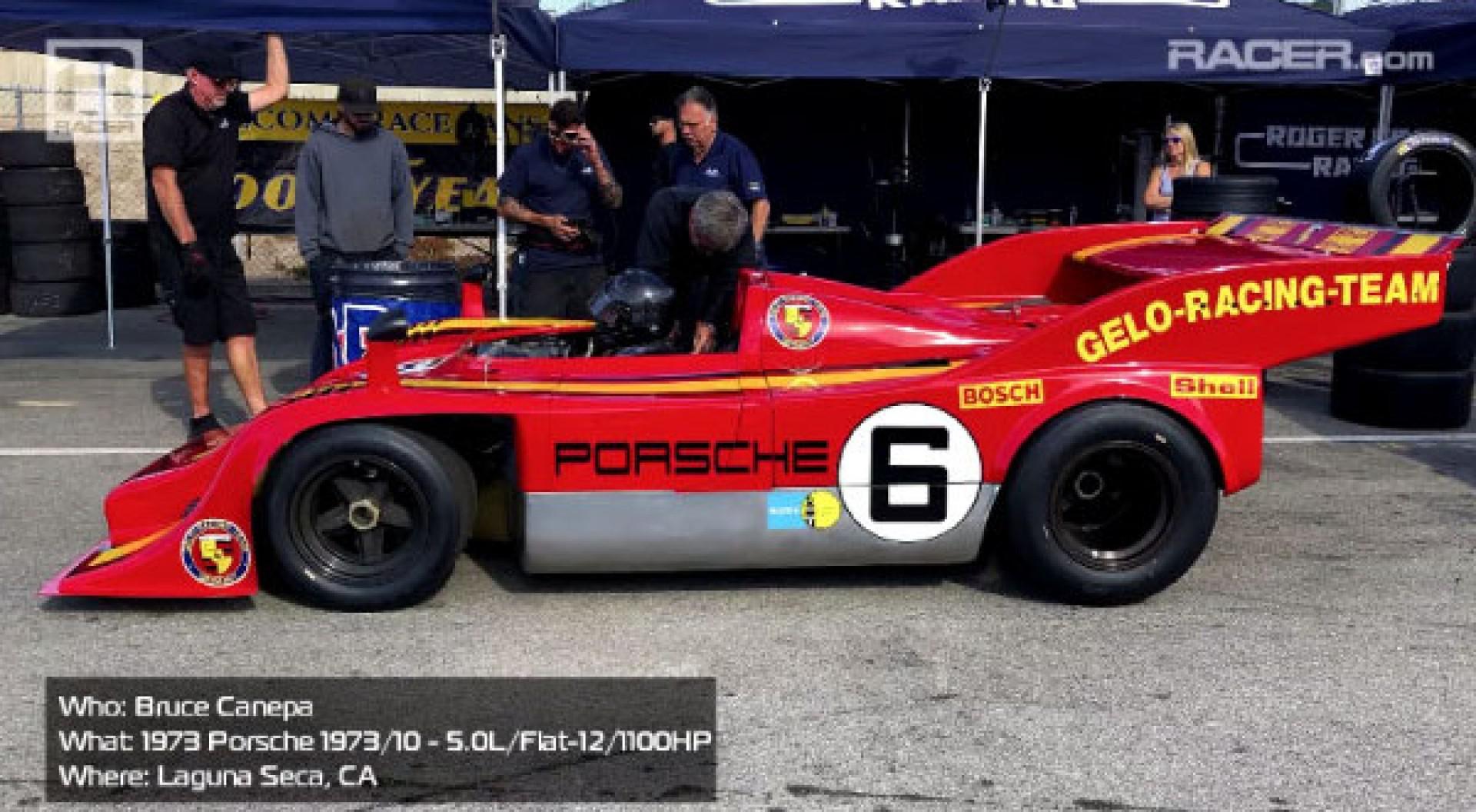 Vidéo: Bruce Canepa a pris la piste au volant d'une Porsche 917/10