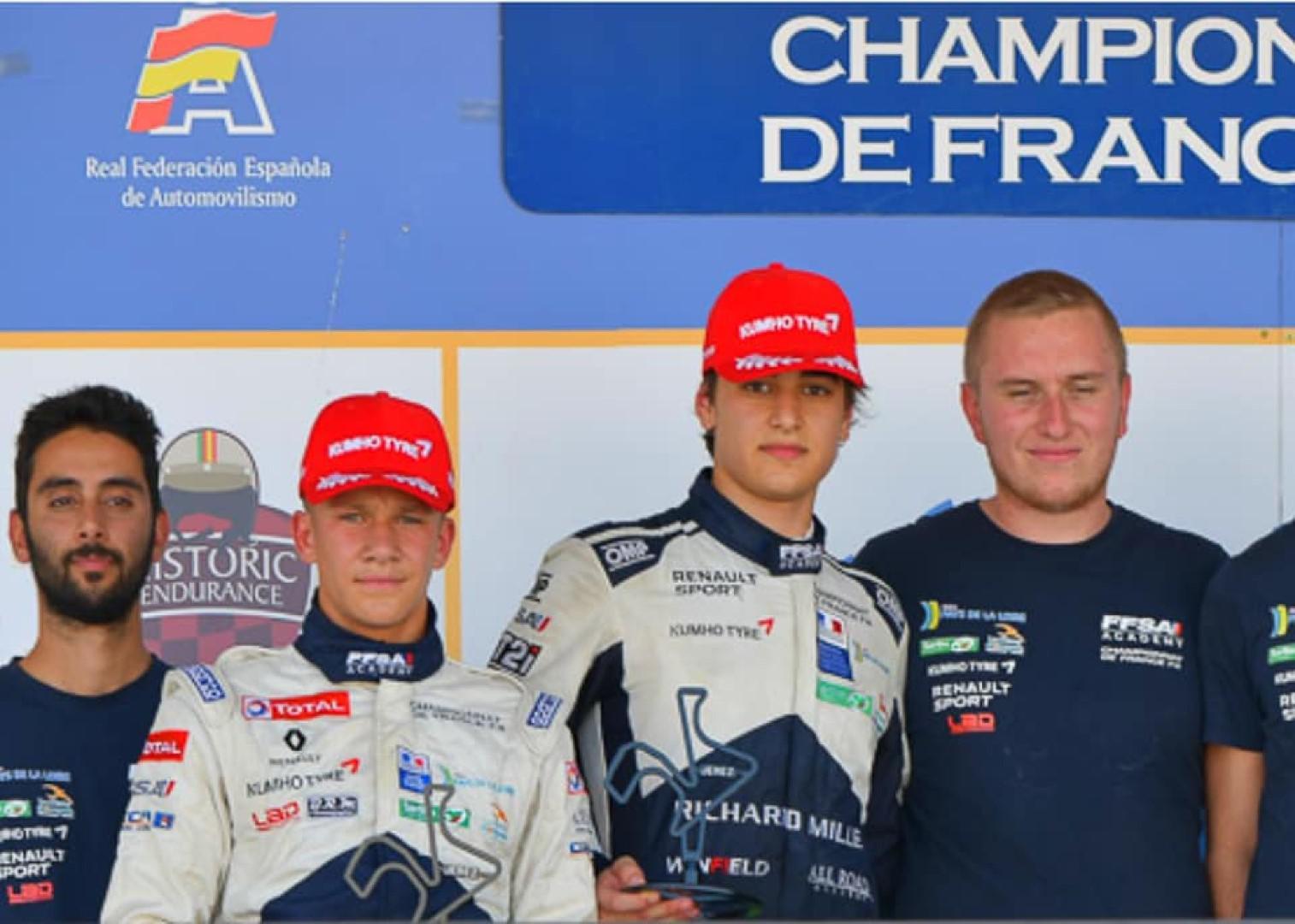 Alessandro Ghiretti confirme son talent en F4 FFSA