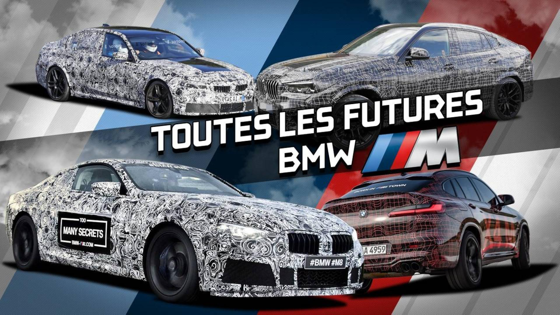 Les futures sportives qui serontofficiellementcommercialiséespar BMW Motorsport !