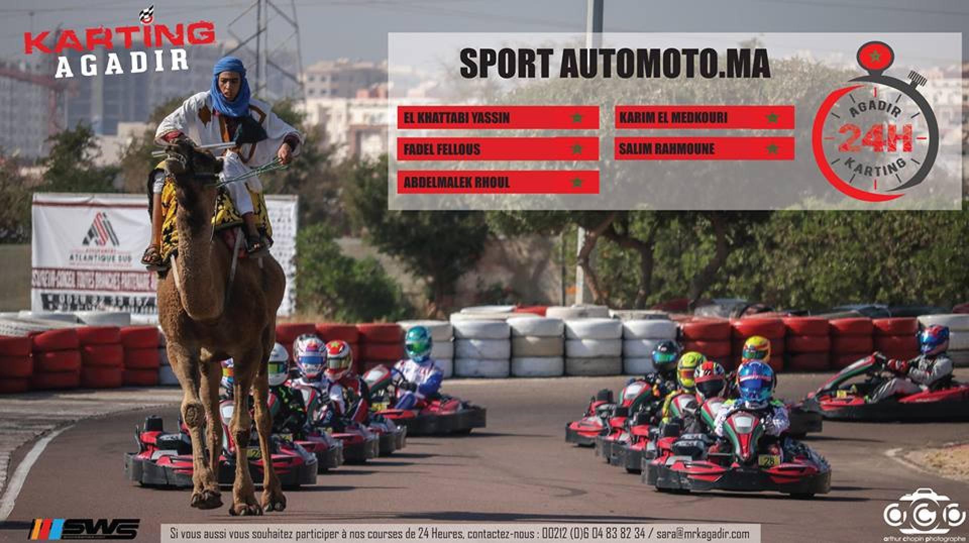 24H d'Agadir : 3 weekends, 3 courses, 300 pilotes !