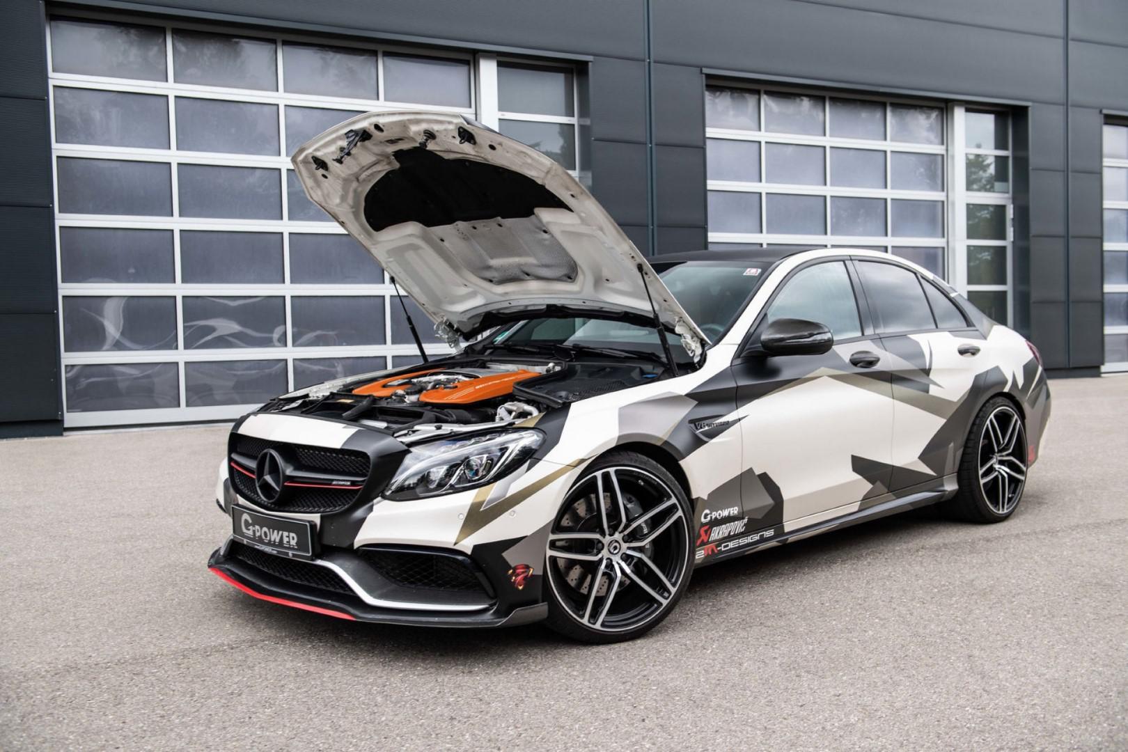 Mercedes-AMG C63 S G-Power : 800 chevaux