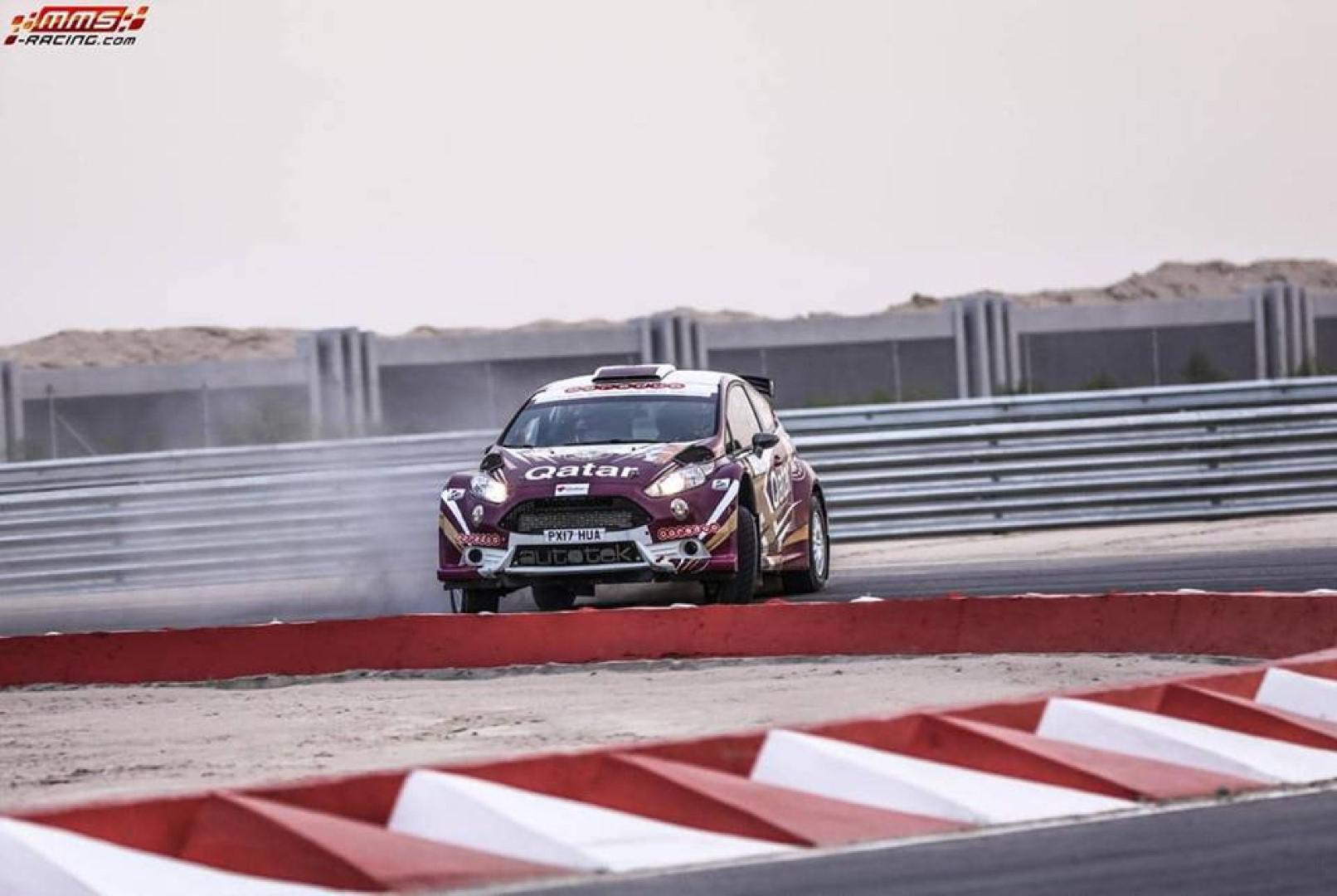 ناصر العطية يفوز بالمرحلة الاستعراضية لرالي الكويت