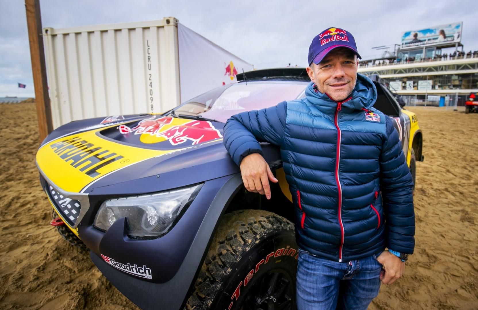 Sébastien Loeb dévoile ses couleurs pour son 4e Dakar.