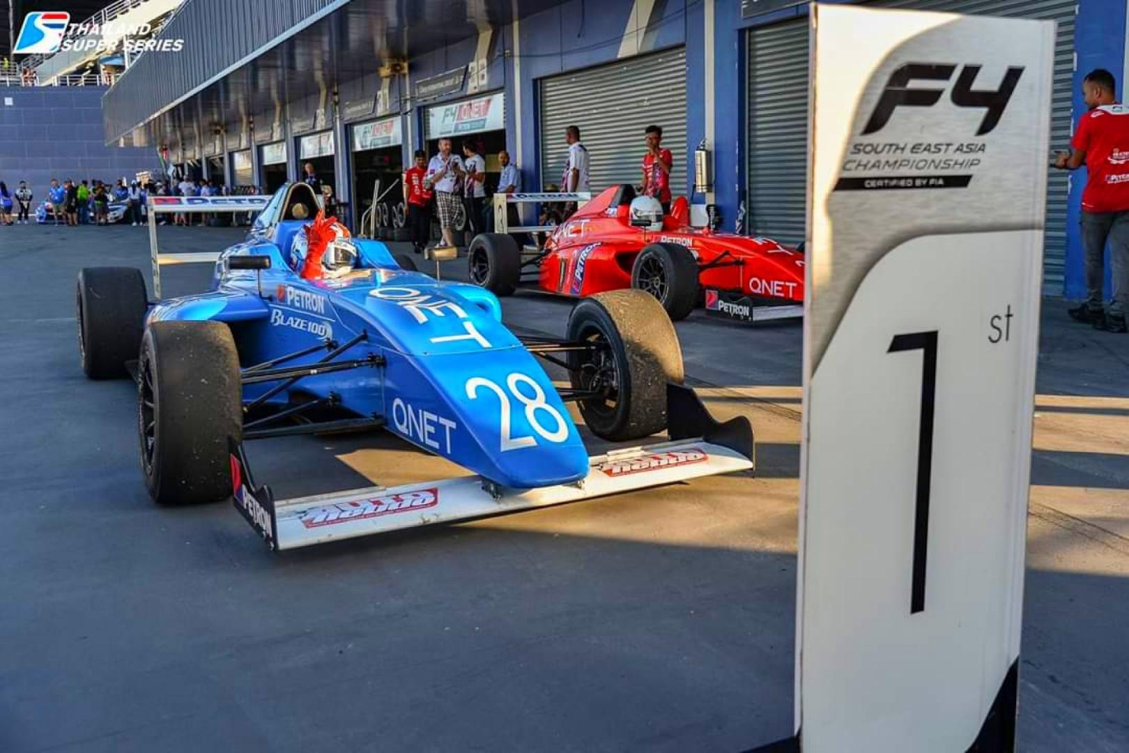 Alessandro Ghiretti en Thaïlande : Manches 5 et 6 = 5 victoires sur 6 courses