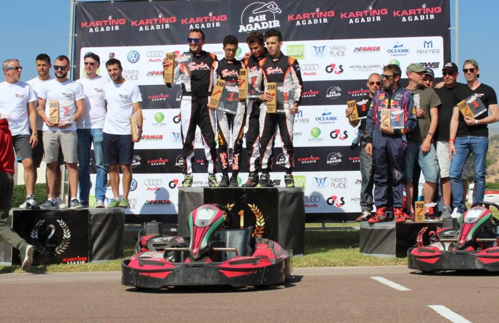 24H Karting d'Agadir : Manche 1
