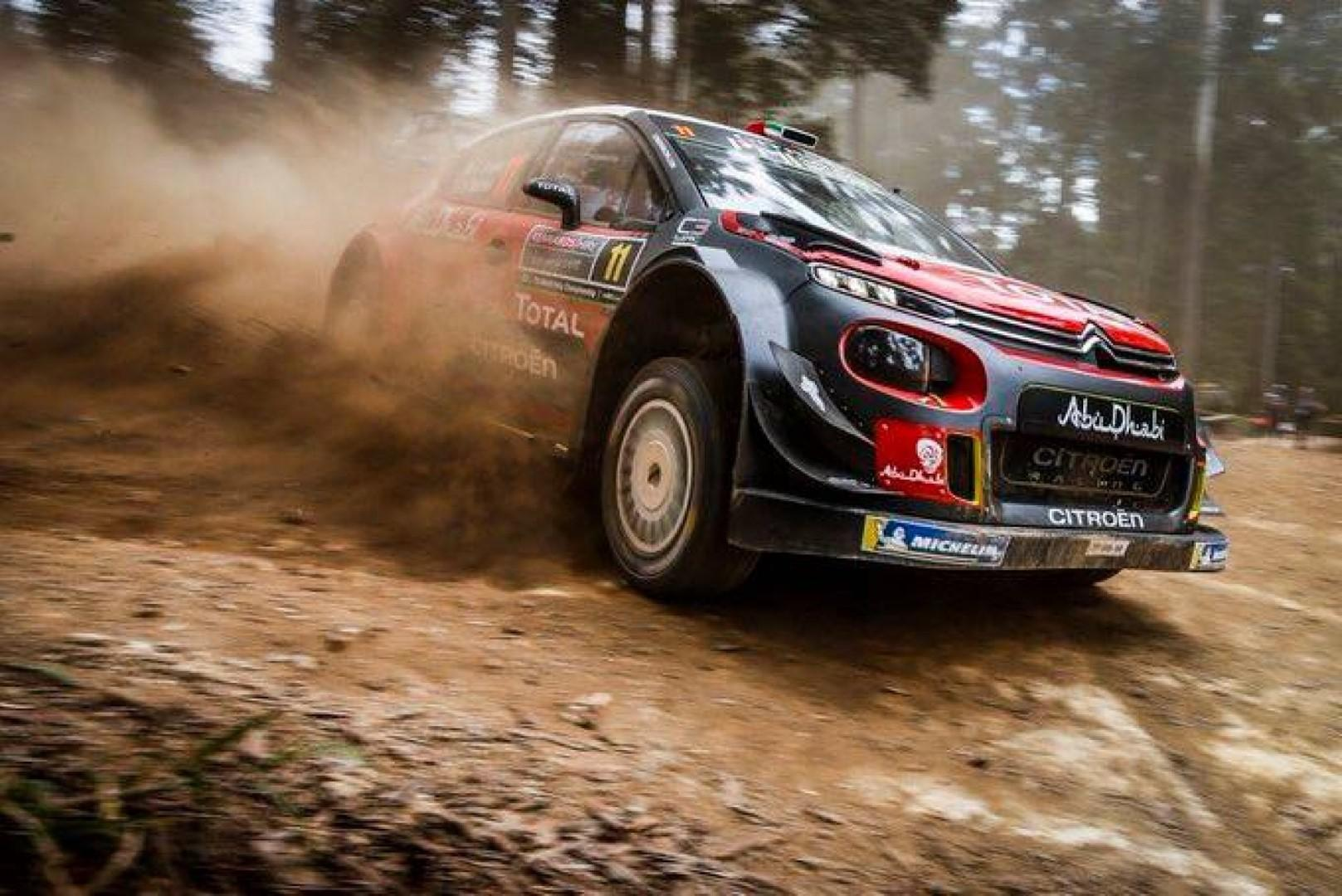 Rallye d'Australie 2018 : Mads Ostberg leader