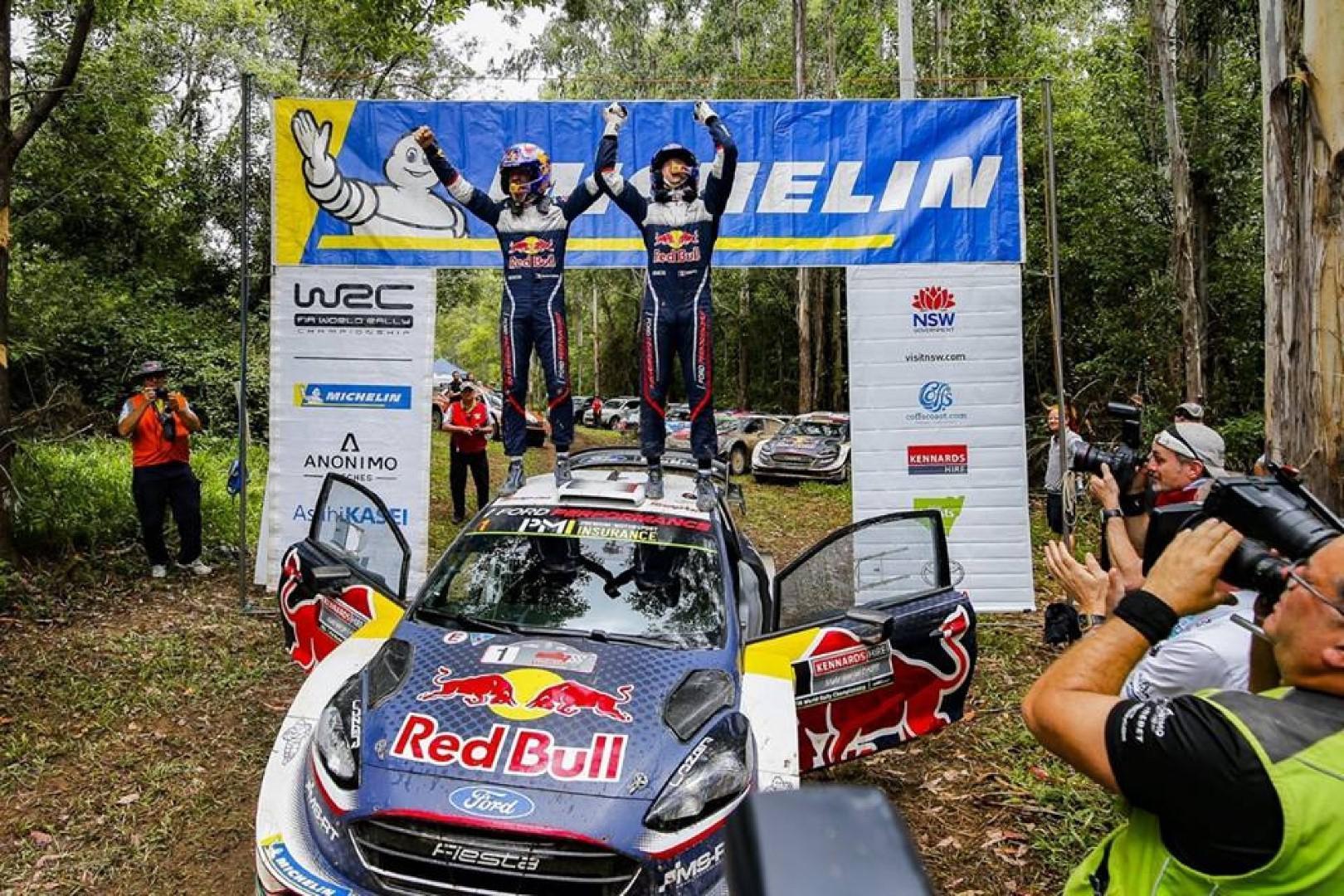 Rallye d'Australie 2018 : Ogier champion du monde, Latvala vainqueur.
