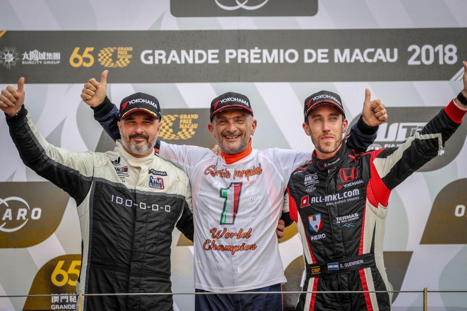 Gabriele Tarquini remporte la première saison du WTCR / Bennani 12ème