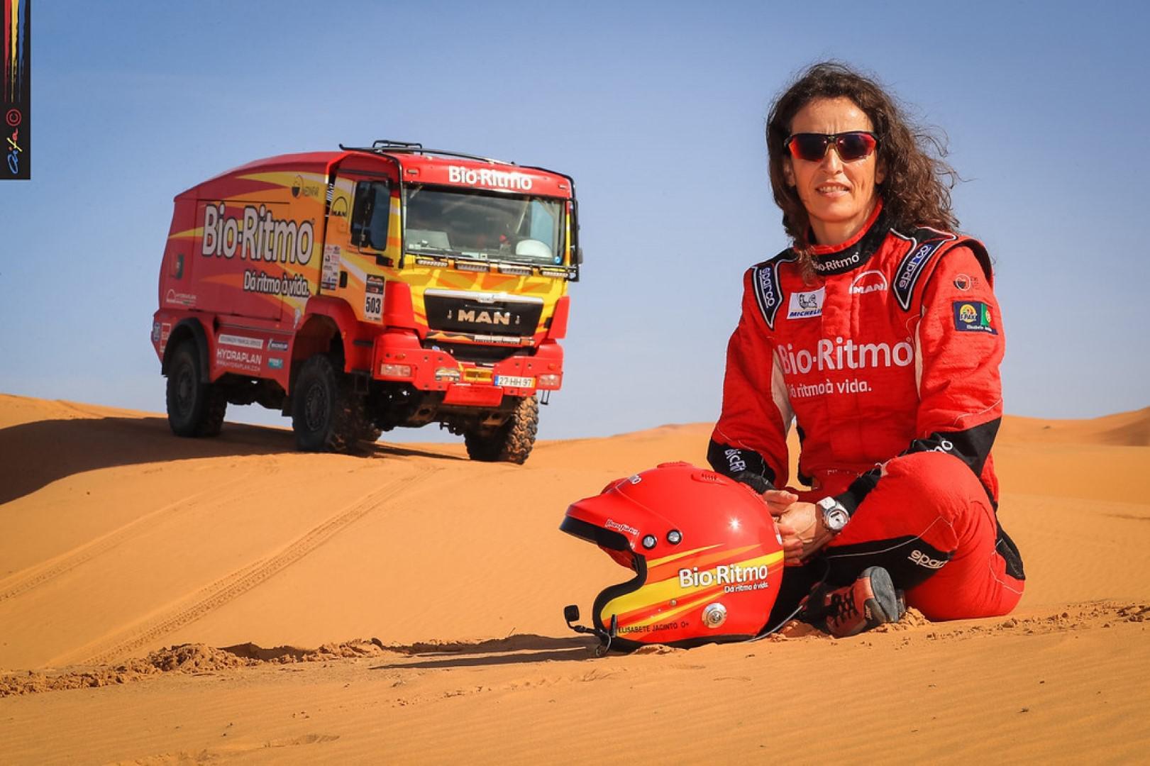 Elisabete Jacinto annonce sa 10ème participation à l'Africa Eco Race.