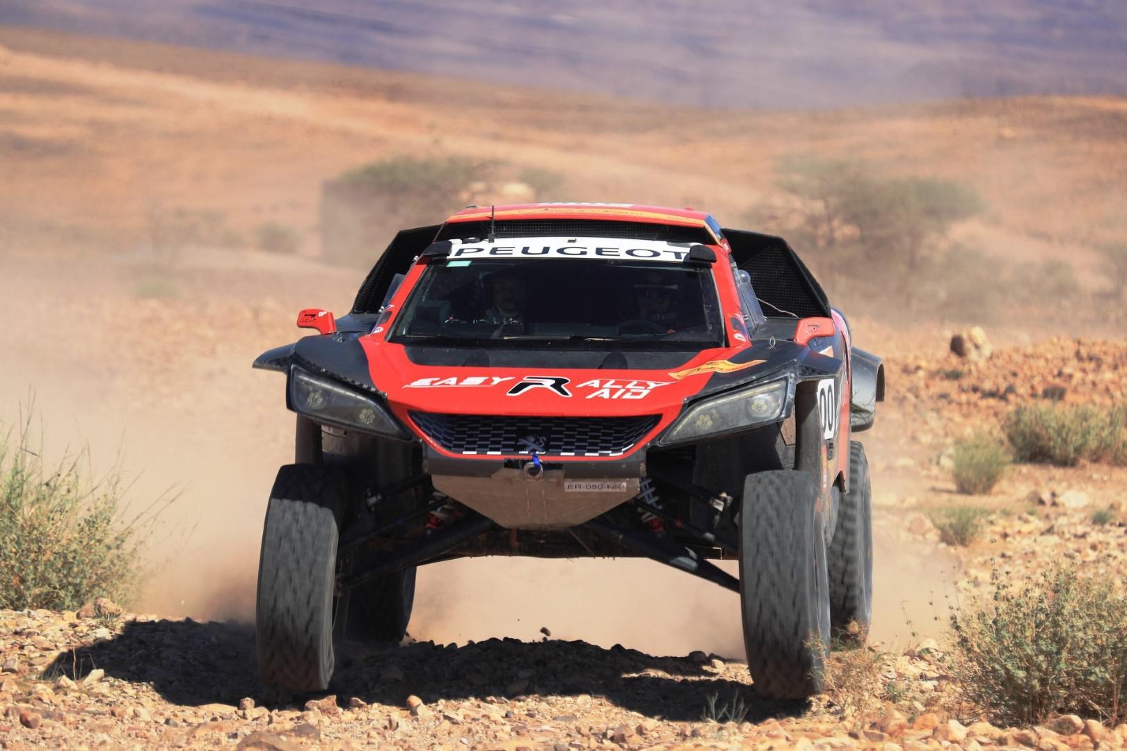 Dakar 2019 : Jean Pascal Besson affronte le désert du Pérou