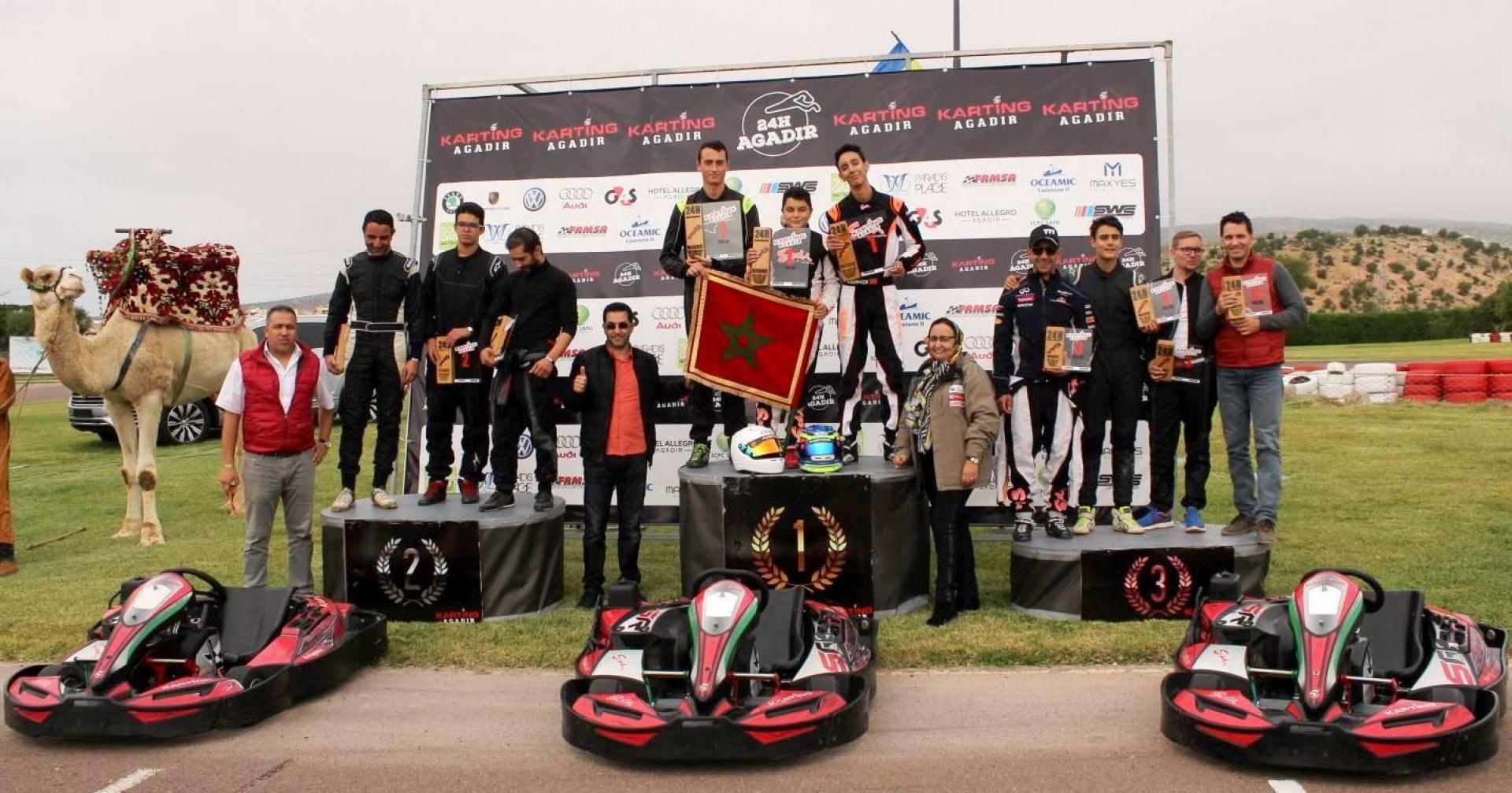 L'expérience des 24 heures d'endurance Karting d'Agadir